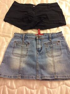 Size 7 short and skirt