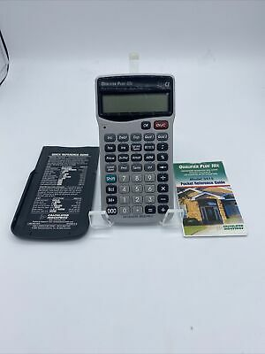 Advanced Real Estate Calculated Industries Qualifier Plus Iiix 3415 Calculator