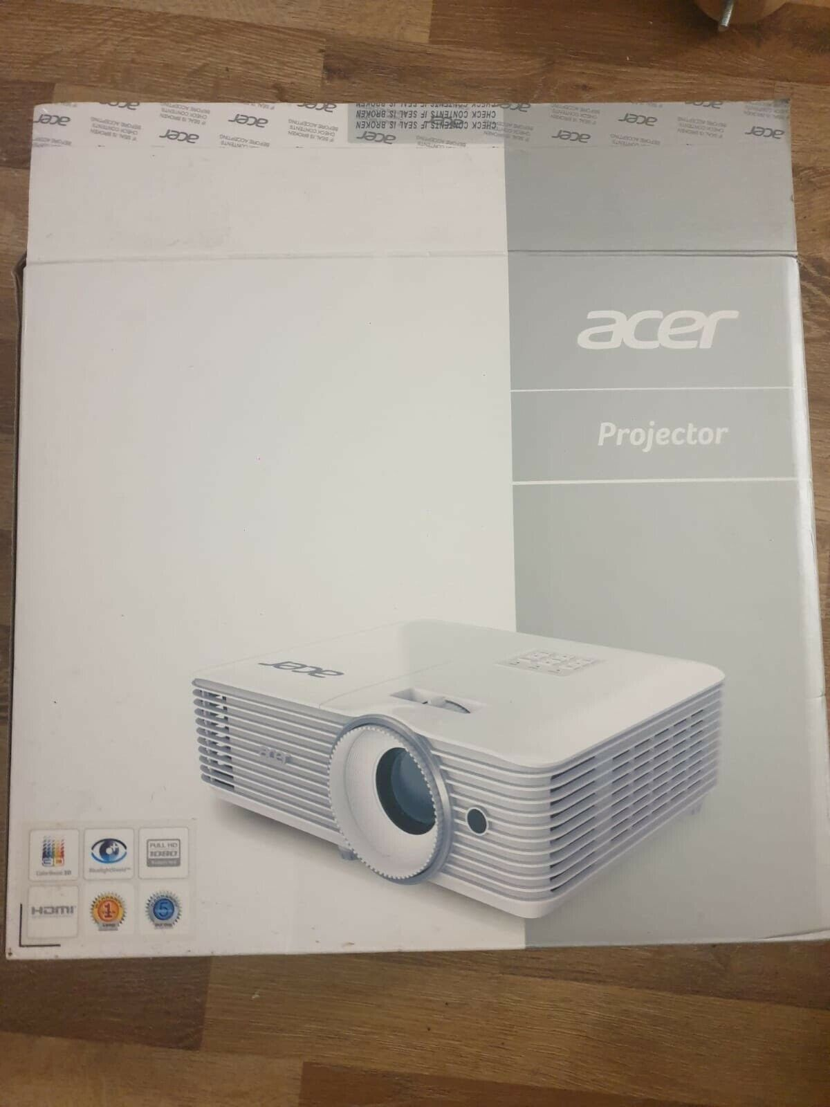 Vidéo projecteur acer gm512 blanc3500 lumens - full hd (1920 x 1080) - 16:9 - 1