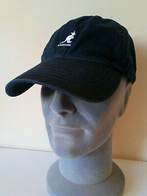 KANGOL WASHED COTTON RELAXED BASEBALL CAP SIZE-L/XL