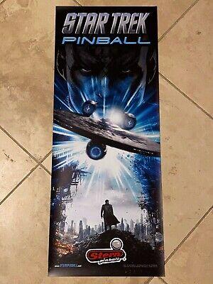 Star Trek Stern Pinball Vinyl Banner 13x33 Inches