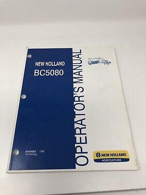New Holland Bc5080 Small Square Baler Operators Manual