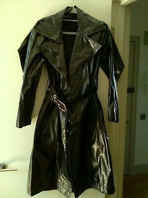 House Of Sunny Vynil Trench Coat 8