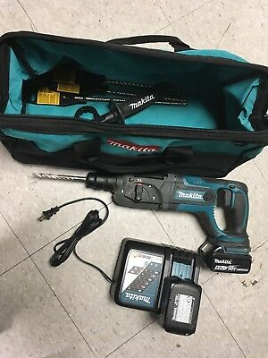 18-volt Lxt 78 In. Rotary Hammer Kit Drill Power Tool Cordless Lithium Ion Bag