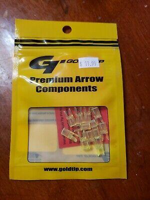 Gold Tip GT Series HD Pin Nock Flo Green - Sold  per 1 Dozen pack Gold Tip Gt Nocks