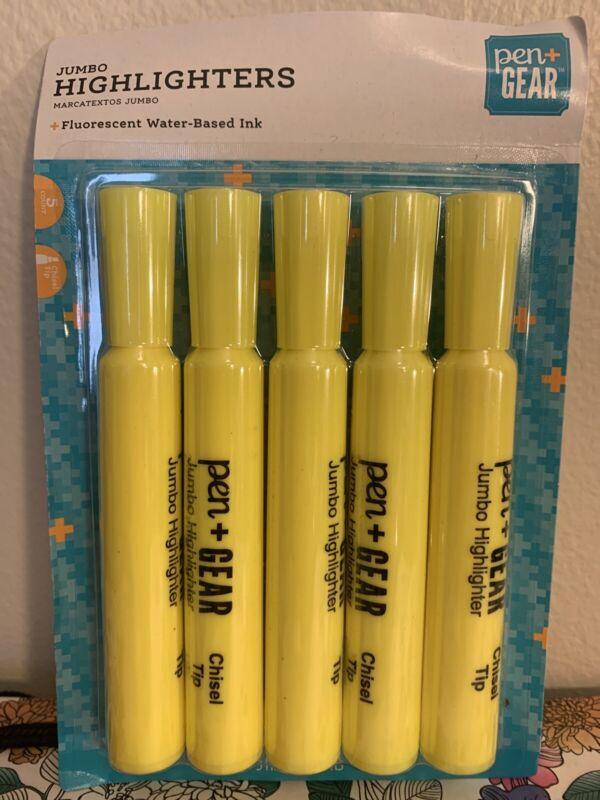Pen Gear Jumbo Highlighters 5 Pk