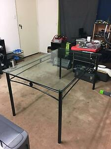 glass top dining table $75 firm NO OFFERS PLEASE Rivervale Belmont Area Preview