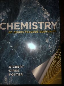 Chemistry an atoms-focused approach hardcover