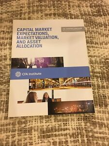 Capital market expectations, market valuation, asset allocation