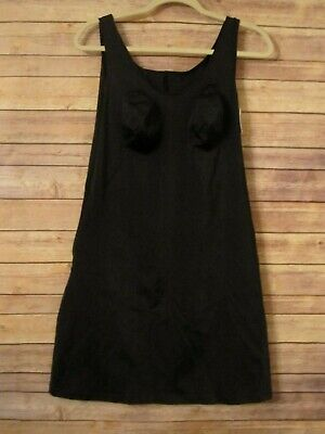 Annette Shapewear #DD105 Diva Defined Black Adjustable Control Slip Sz 3XL NWT