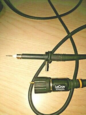 Lecroy Pp005a High Impedance Passive Probe Kit 500mhz 600v 10 1 Atten.