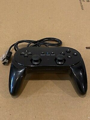 Nintendo Wii U Replacement Pro Controller Black