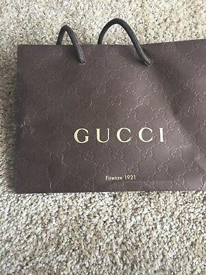 Small Brown Gucci Gift Bag
