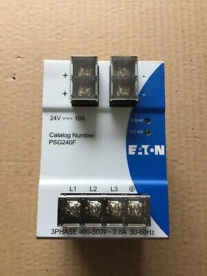 Eaton Psg240f Power Supply 3ph 400-500v 24v 10a
