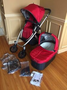 Uppababy Vista stroller & bassinet, excellent condition, 2014