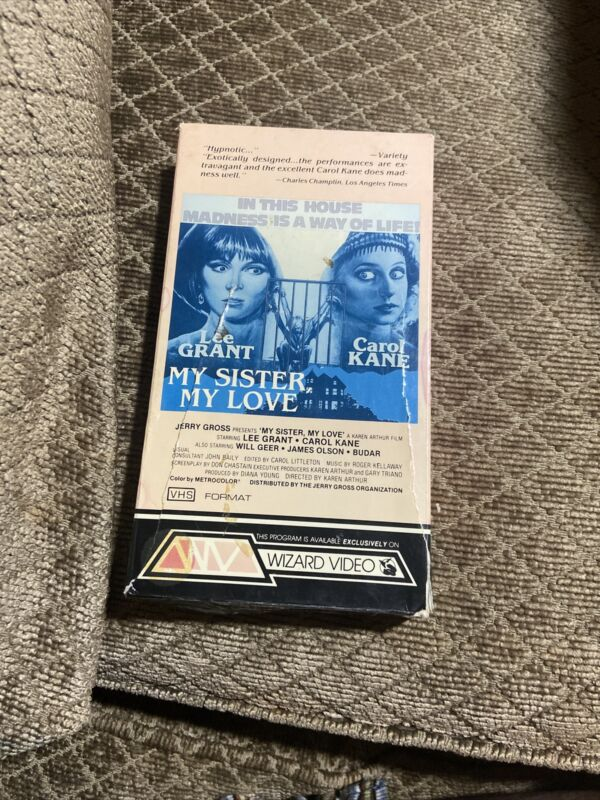 My Sister, My Love (VHS 1978)