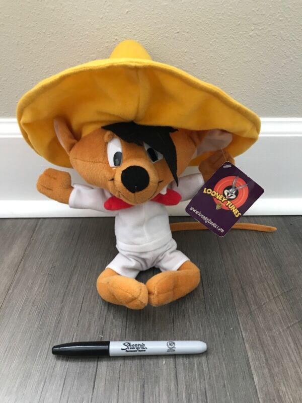 Looney Tunes Speedy Gonzales Plush Nanco New Rare