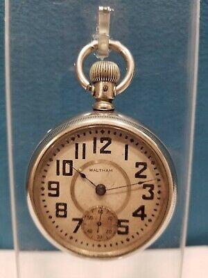 Vintage Waltham P.S. Bartlett OF Pocket Watch, 11J18s Circa 1881-1882,Model 1879