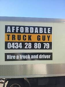 AFFORDABLE TRUCK GUY DELIVERY AND MOVING SERVICE Brisbane City Brisbane North West Preview