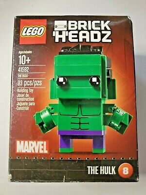 NEW LEGO Brick Headz Sealed Hulk Marvel 41592