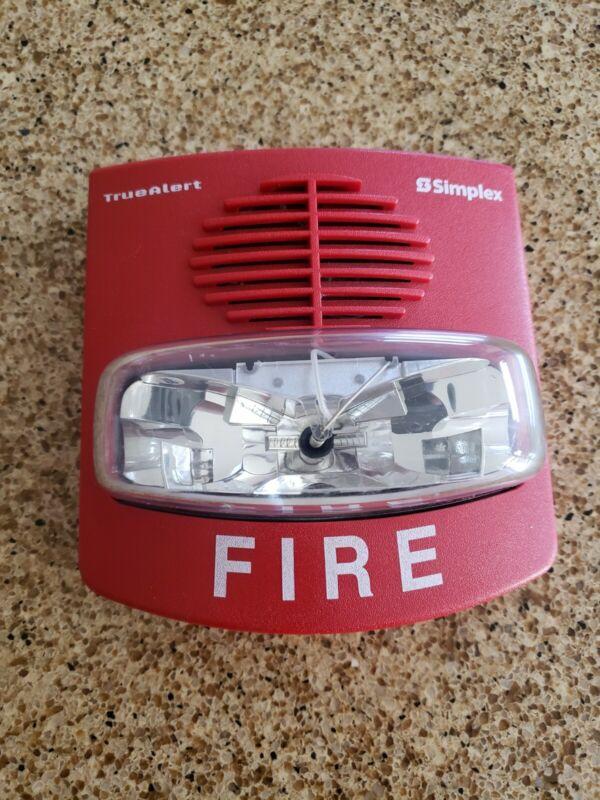SIMPLEX FIRE ALARM TRUEALERT HORN/STROBE 4903-9451