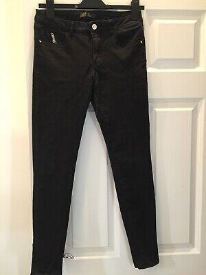 Zara skinny black jeans size 38 (10)