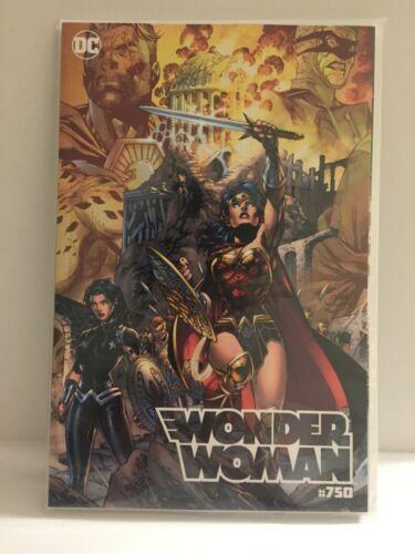 2020 DC Comics Wonder Woman #750 Jim Lee Torpedo Comics Variant Cover B