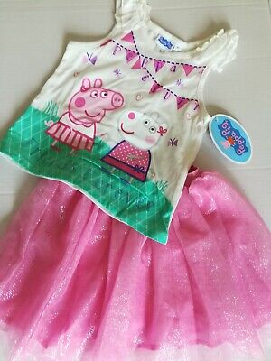 PEPPA PIG 2-PIECE SKORT OUTFIT - NEW - SIZE 4T](Pig Outfit)