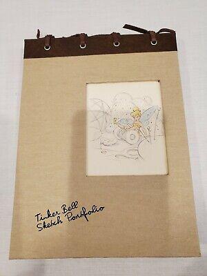 Vintage Disney Tinker Bell Sketch Portfolio Watch Limited Edition #1303/3000 New