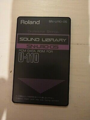 Roland Sound Library SN-U110-05 PCM Data For U110 orchestral strings  ()