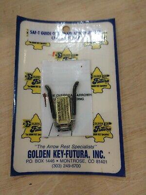 Golden Key Futura Saf-T-Guide Overdraw Arrow Holder Vintage New Old Stock