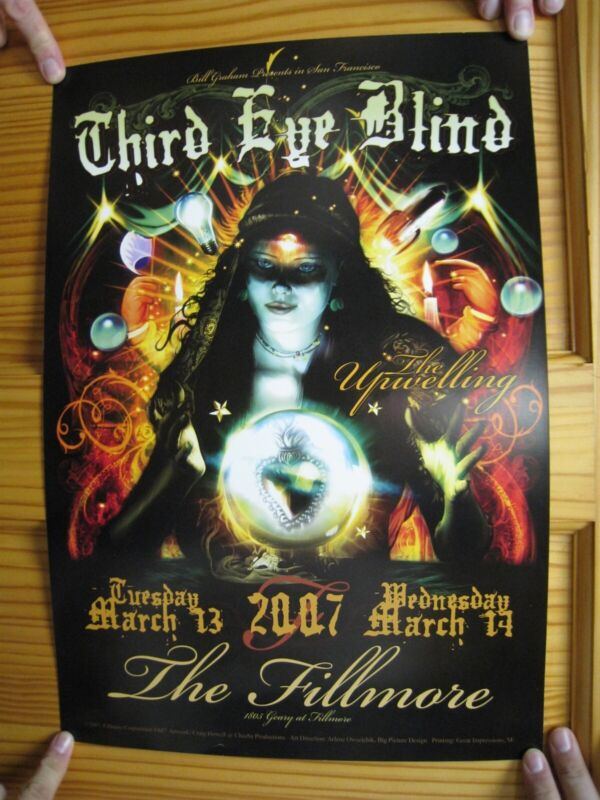 Third Eye Blind Poster Fillmore The Upwelling March 2007 Fortune Teller