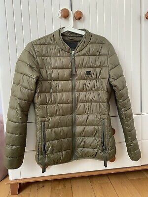 Karl Lagerfeld Dark Green/Khaki Padded Jacket Size M
