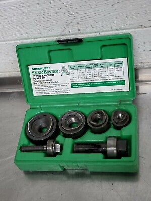 Greenlee 7235bb Slug-buster Manual Knockout Kit For 12 To 1-14 Conduit 3