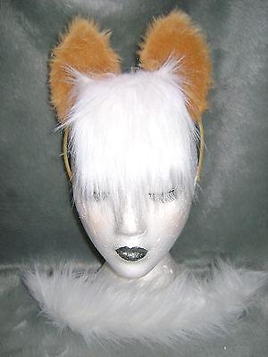 My Little Pony Applejack Costume (Applejack My Little Pony Horse Foal Ears And Tail Set Faux Fur Fancy Dress)