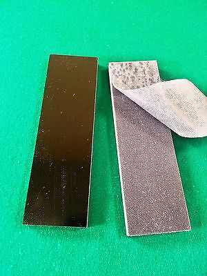 2 - .125 BLACK FINE TEXTURED G10 KNIFE HANDLE MATERIAL SCALES - G-10 for sale  Wheeling