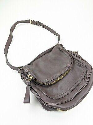 Tom Ford Jennifer Bag Large Brown Leather Crossbody Fold Over Bag (Jennifer Tom Ford)