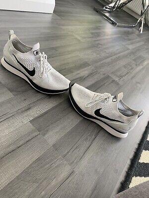 Nike Air Zoom Mariah Flyknit Racer White - Women Size 7