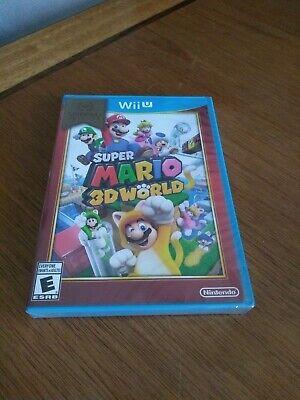 Super Mario 3D World Nintendo Selects Wii U BRAND NEW Free Shipping