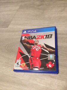 PS4 Video Game NBA2K18!