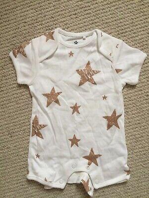 Next Baby Jumpsuit, Stars, Up To 1 Month, White comprar usado  Enviando para Brazil