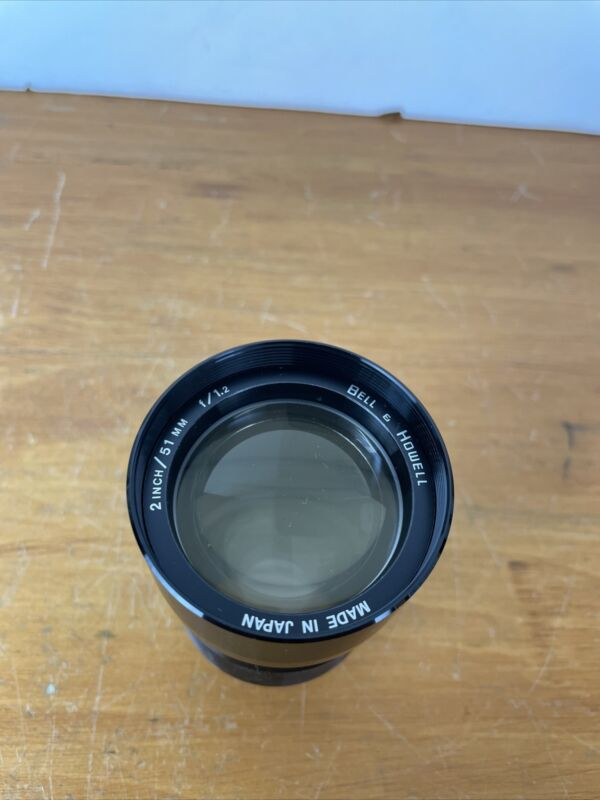 NEW Bell & Howell 2 inch 51mm f/1.2 fast projection lens 51 NEW IN BAG OLD STOCK