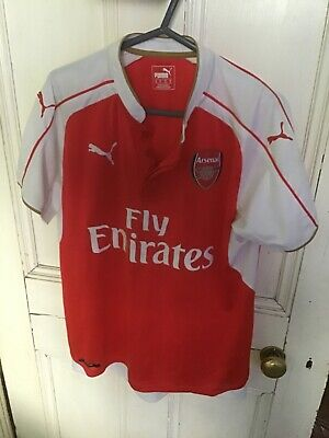 Arsenal Puma Shirt Medium