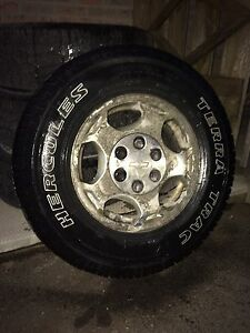 Terra trac tires on chev rims