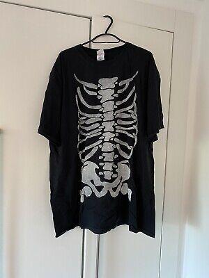 Vintage Skeleton Graphic T Shirt Kapital Esque