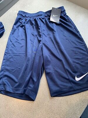 """Don Alleson Men/'s Soccer Shorts Size S M XL Navy Blue Checkered 5/"""" Inseam NWOT"""