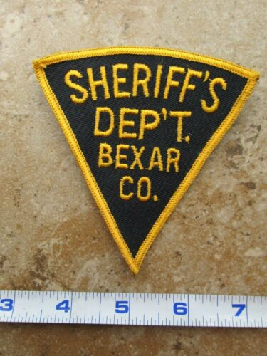 OBSOLETE Vintage State of Texas Bexar County Sheriff