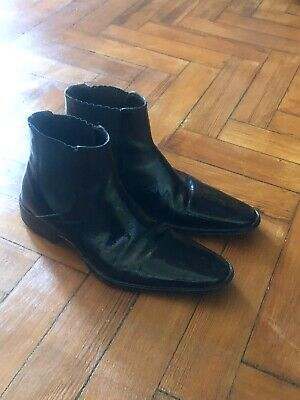 Kenneth Cole Black Chelsea Boots Men Size 7
