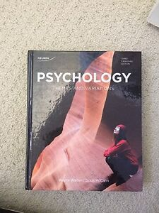 Psychology Themes and Variations Textbook