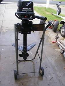 MERCURY 4HP OUTBOARD HAS BEEN FULLY SERVICED